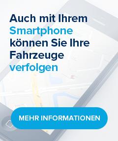 Auch mit Ihrem Smartphone können Sie Ihre Fahrzeuge verfolgen Mehr Informationen