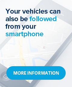 Your vehicles can also be followed from your smartphone